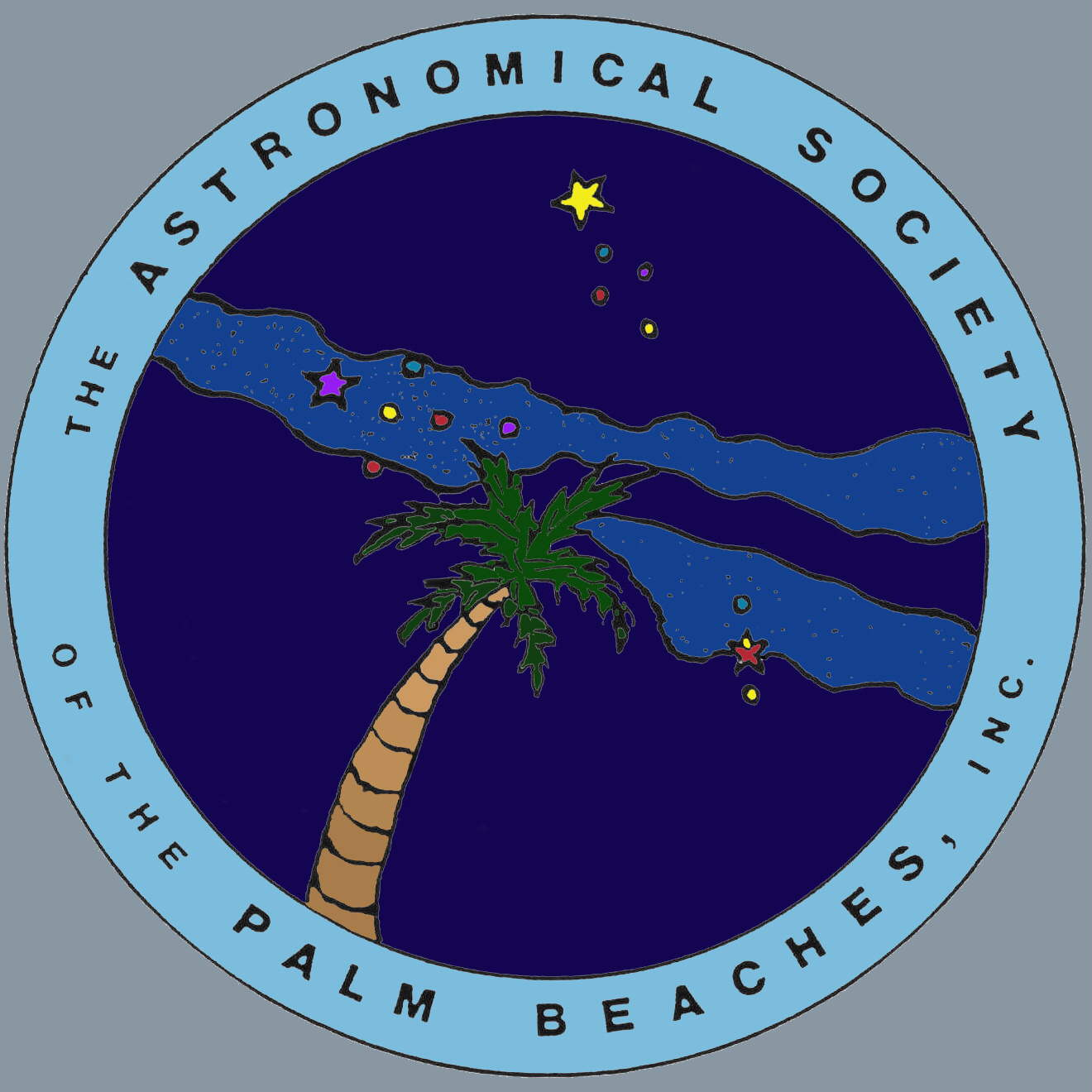 Astronomical Society of the Palm Beaches Logo