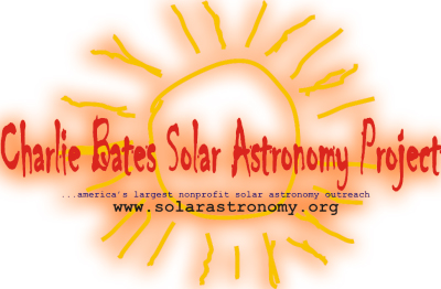The Charlie Bates Solar Astronomy Project Logo