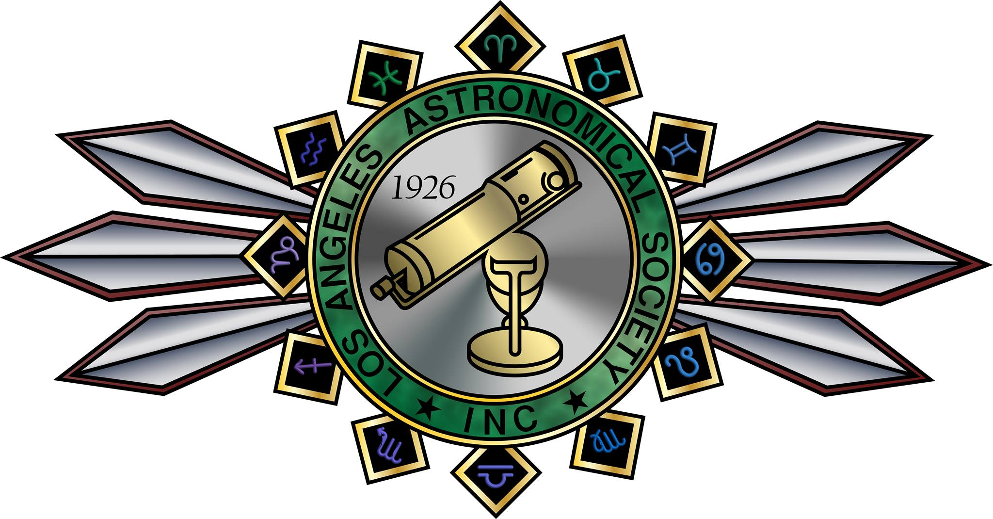 Los Angeles Astronomical Society Logo