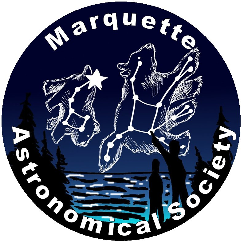 Marquette Astronomical Society Logo