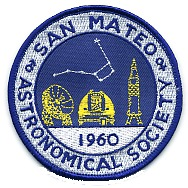 San Mateo County Astronomical Society Logo