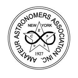 Amateur Astronomers Association of NY Logo