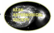 Kern Astronomical Society: Event Calendar