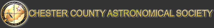 Chester County Astronomical Society Logo