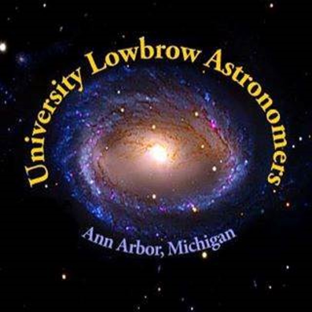 University Lowbrow Astronomers Logo