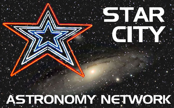 Star City Astronomy Network Logo