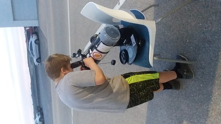 Photo from Silver Lake Library Telescope