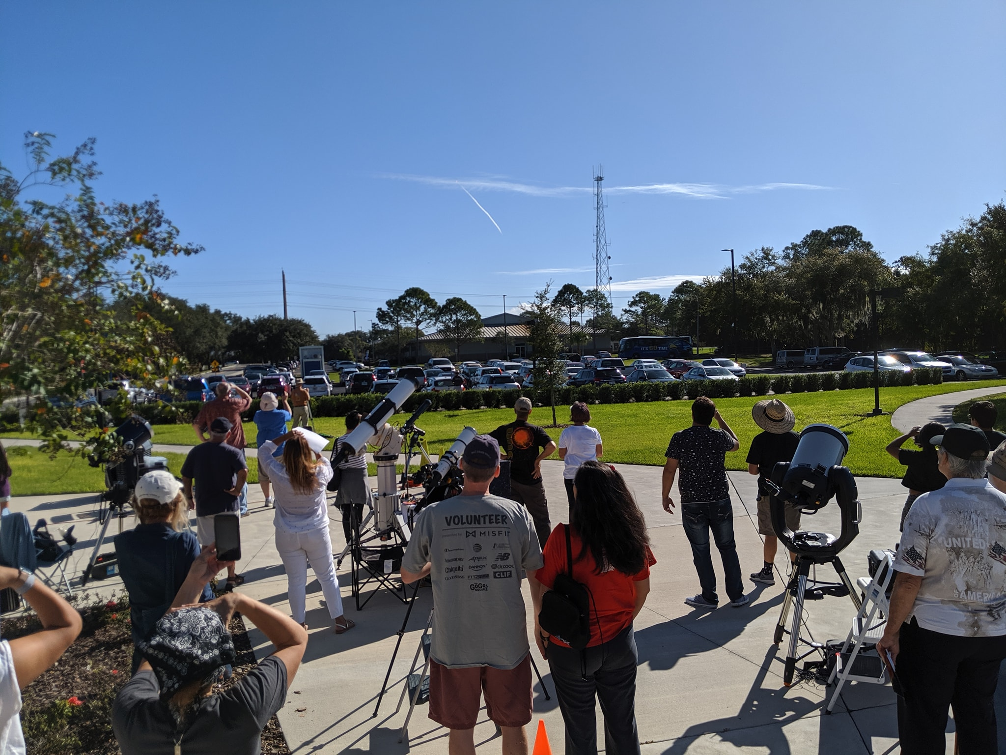 Photo from Mercury transit Observing Event
