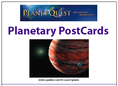 Planetary Postcards