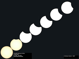 Image of a solar eclipse, courtesy Giul Maiolini