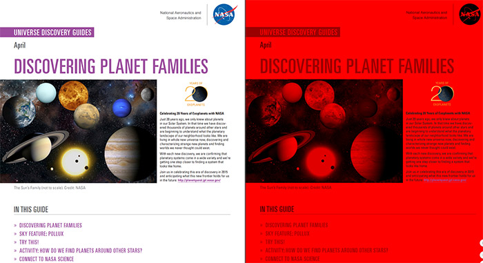 Preview image of the Universe Discovery Guide for April
