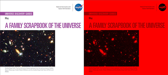 Universe Discovery Guide for May: A Family Scrapbook of the Universe