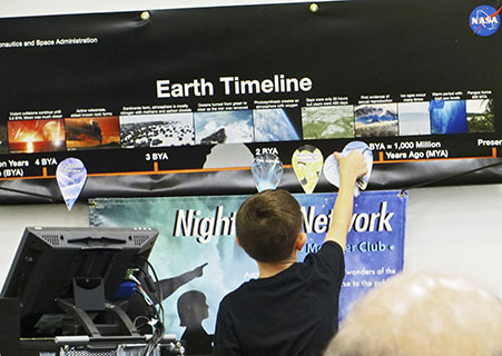 Earth Timeline / Watery Worlds [Banner and Activity]