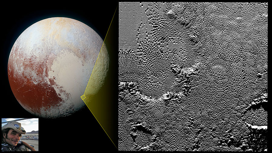 NSN Webinar: Peering into distant lands: New Horizons and the geology of Pluto and Charon