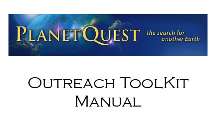 PlanetQuest Outreach Toolkit Manual