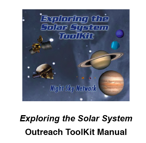 Exploring the Solar System ToolKit Manual