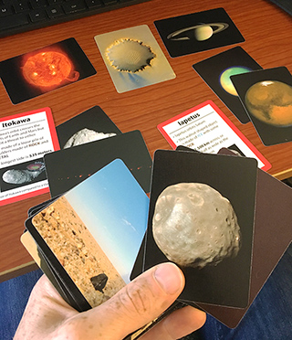 Sorting the Solar System Cards [Activity]