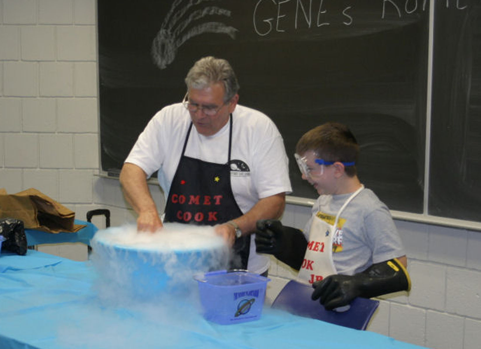 Cook Up a Comet (Astronomy Activity)