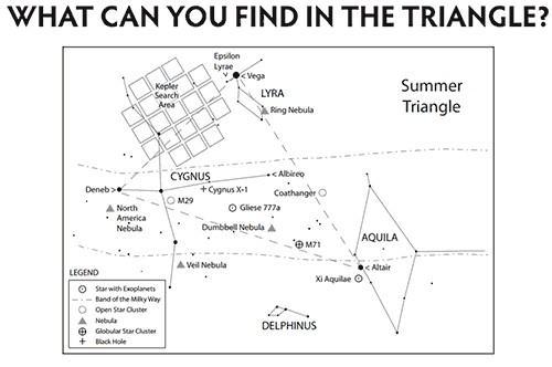 Thumbnail of the Trip Around the Summer Triangle handout
