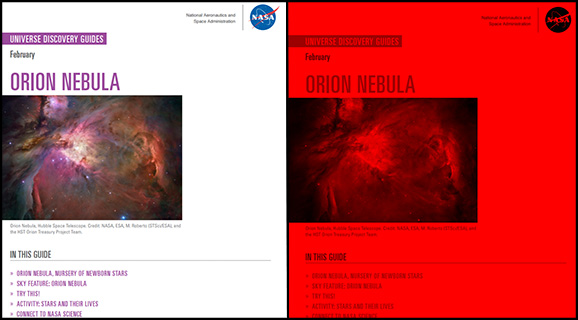 Universe Discovery Guide for February: Orion Nebula, Nursery of Newborn Stars