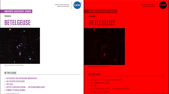 Universe Discovery Guide for January: Betelgeuse, the Workaholic Red Supergiant