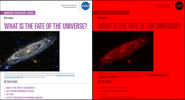 Universe Discovery Guide for November: The Fate of Our Universe