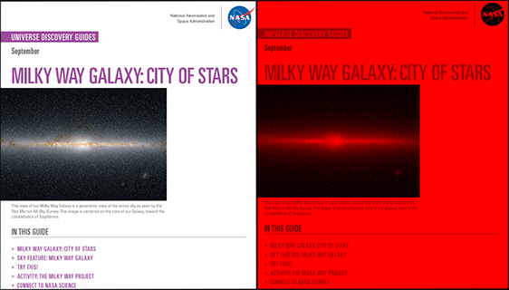 Universe Discovery Guide for September: Milky Way Galaxy
