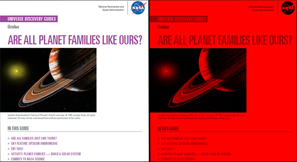Universe Discovery Guide for October: Are All Planet Families Like Ours?