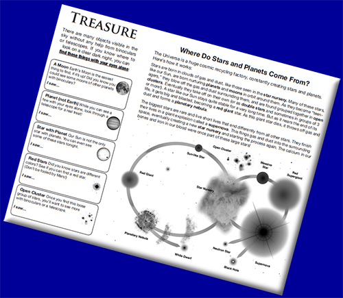 Celestial Treasure Hunt  [Activity and Handout]