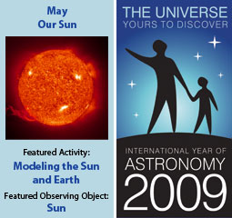 ~May 2009 IYA Discovery Guide:<br> <b>Our Sun</b>