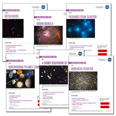 Discover the Universe Guides now available!