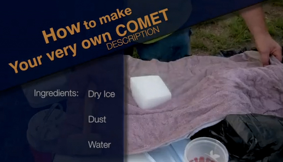 Want to Cook Up a Comet?!