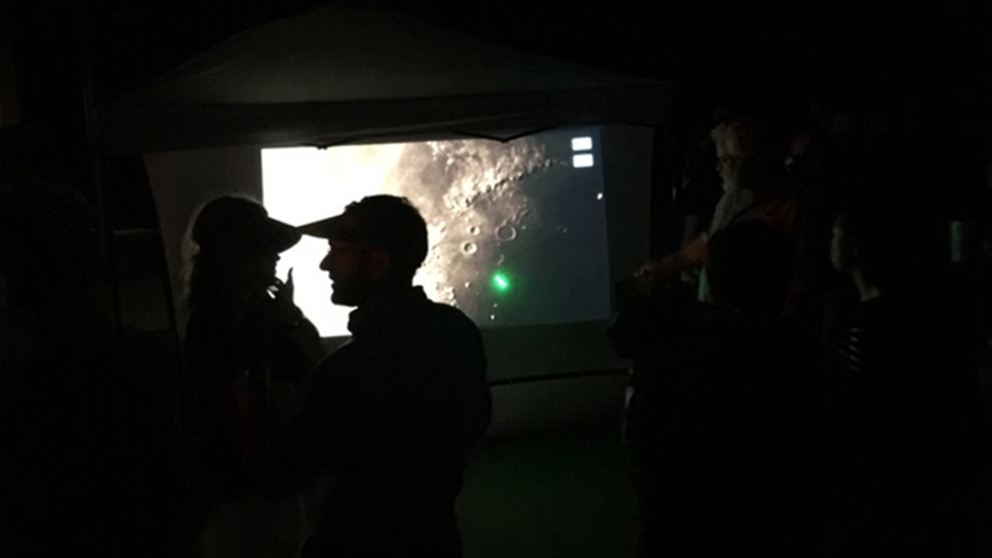 Scenes from International Observe the Moon Night 2019