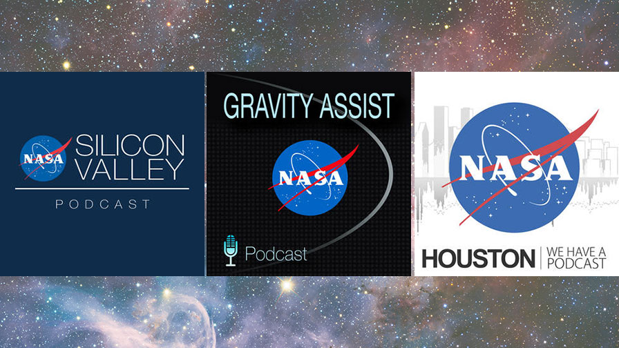 NASA Podcasts for Space News On the Go