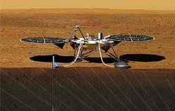 InSight lander rendering