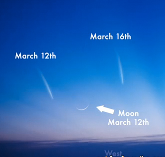 See Comet Pan-STARRS March 12 - 16
