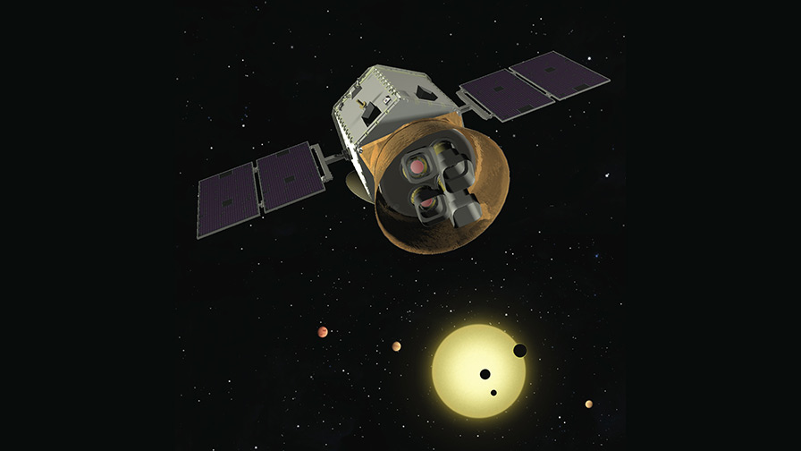 image of TESS mission looking for exoplanets