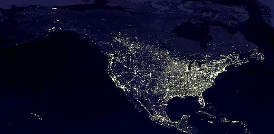 Light Conservation Saves Energy And Dark Skies Night Sky Network - Us-dark-sky-map