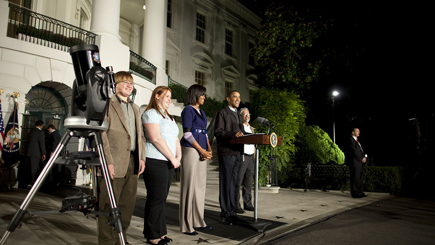 Celebrate White House Astronomy Night this October 19th
