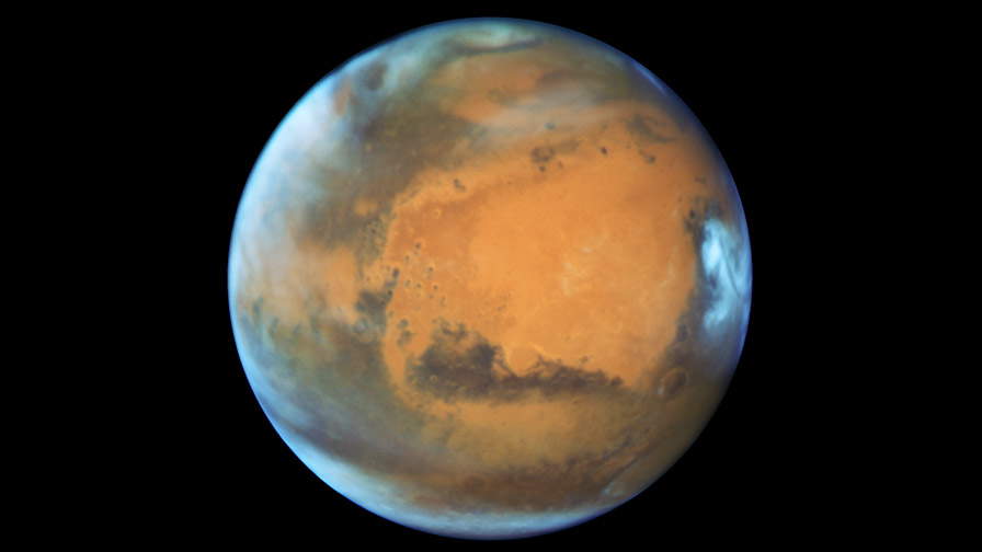 Image of Mars taken on May 12, 2016 by the Hubble Space Telescope