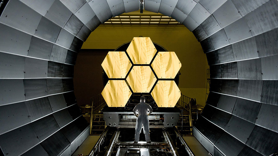 Watch the James Webb Space Telescope Assemble