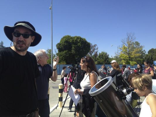 Astronomy Clubs Share the Transit of Venus with Thousands of Solar Gazers