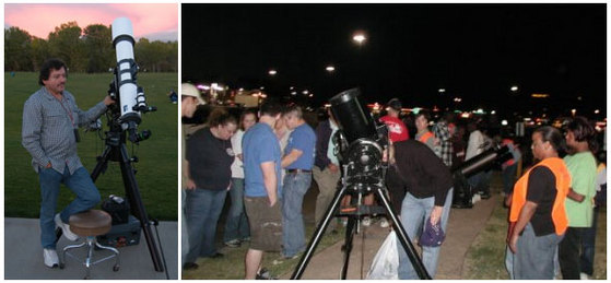 Sidewalk Astronomy: Taking it to the streets.