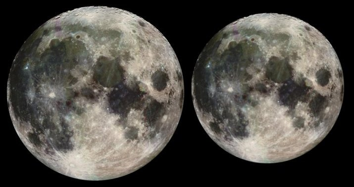 supermoon vs mini moon