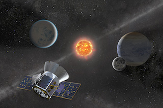 NSN Webinar: The Transiting Exoplanet Survey Satellite (TESS): Mission update and early results